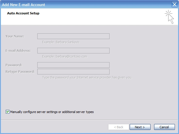 how to find out smtp server name from outlook 2007