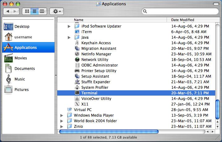 как открыть терминал на Mac - фото 9