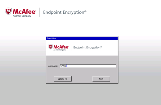 McAfee Endpoint - How to Reset Your Password | UBC Information