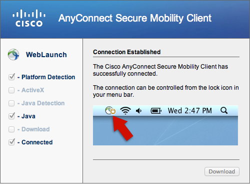 download cisco anyconnect vpn client for mac free